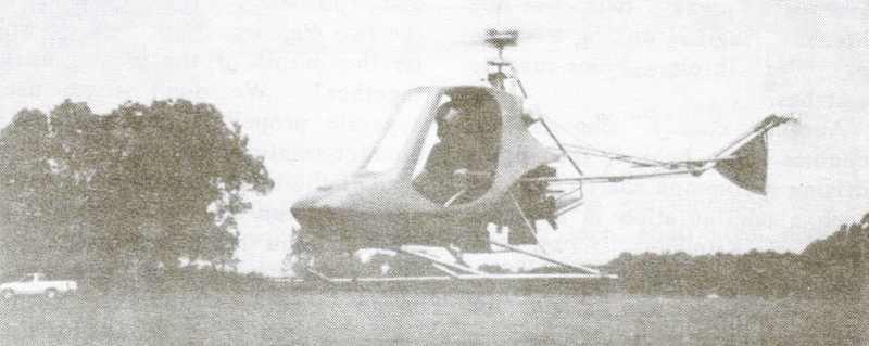 Rotorway Scorpion 1 Helicopter With Modified Subaru EA81 Engine