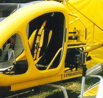 Scout single seat Helicopter by Pawnee Aviation