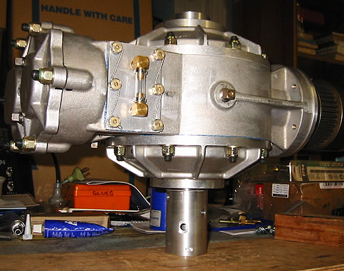 Speedway QC Quick Change helicopter gearbox