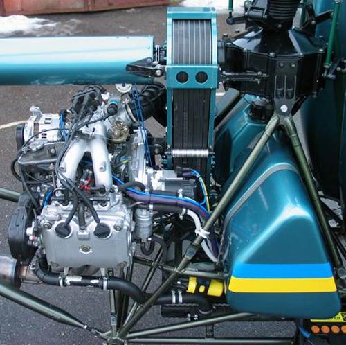 Subaru helicopter engine