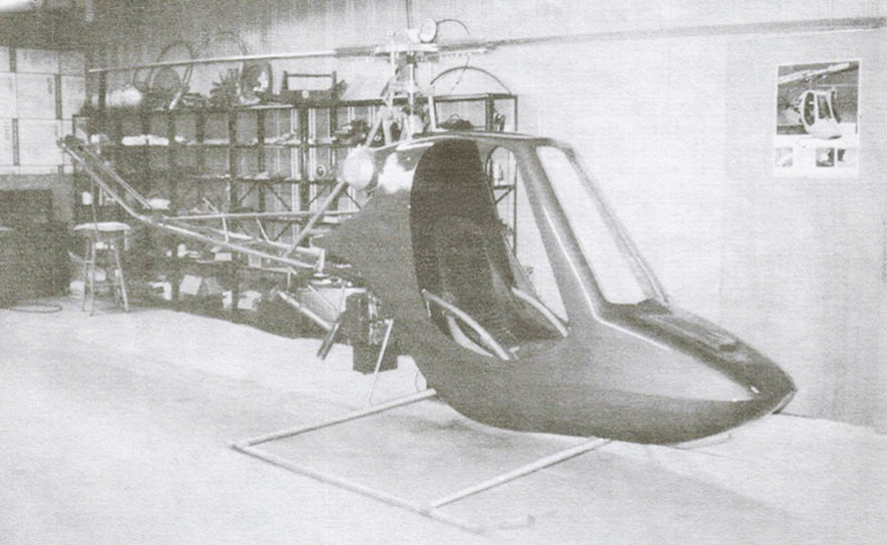 Subaru EA81 Scorpion Kit Helicopter