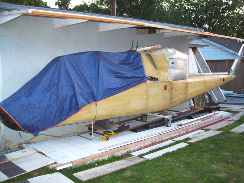 TandemMouse Helicopter Airframe Body Work