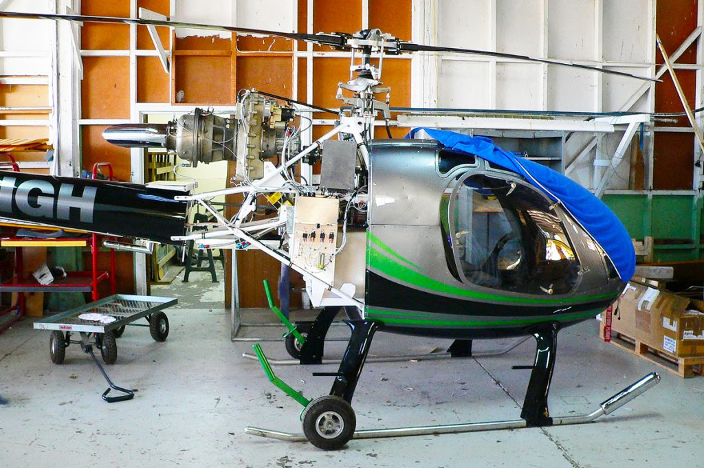 Rotorway JetExec Turbine Powered Kit Helicopter - Redback Aviation