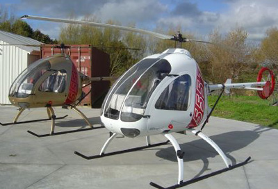 Turbine Ultrasport helicopter