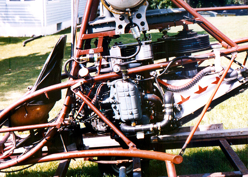 Doug Schwochert's Subaru EA81 Turbo Powered Scorpion 1 Helicopter