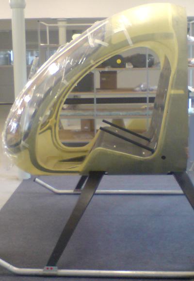 Ultrasport 496 helicopter cabin