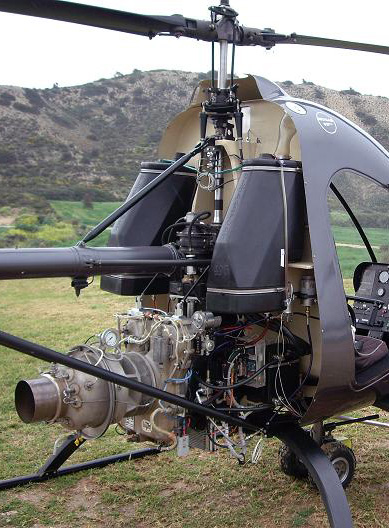 Ultrasport kit helicopter turbine conversion