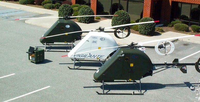Vigilante UAV VTOL helicopter