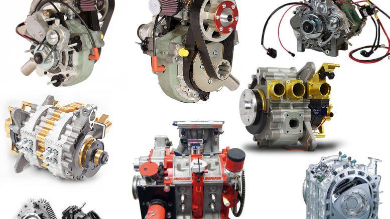 Aircraft Rotary Wankel Engines