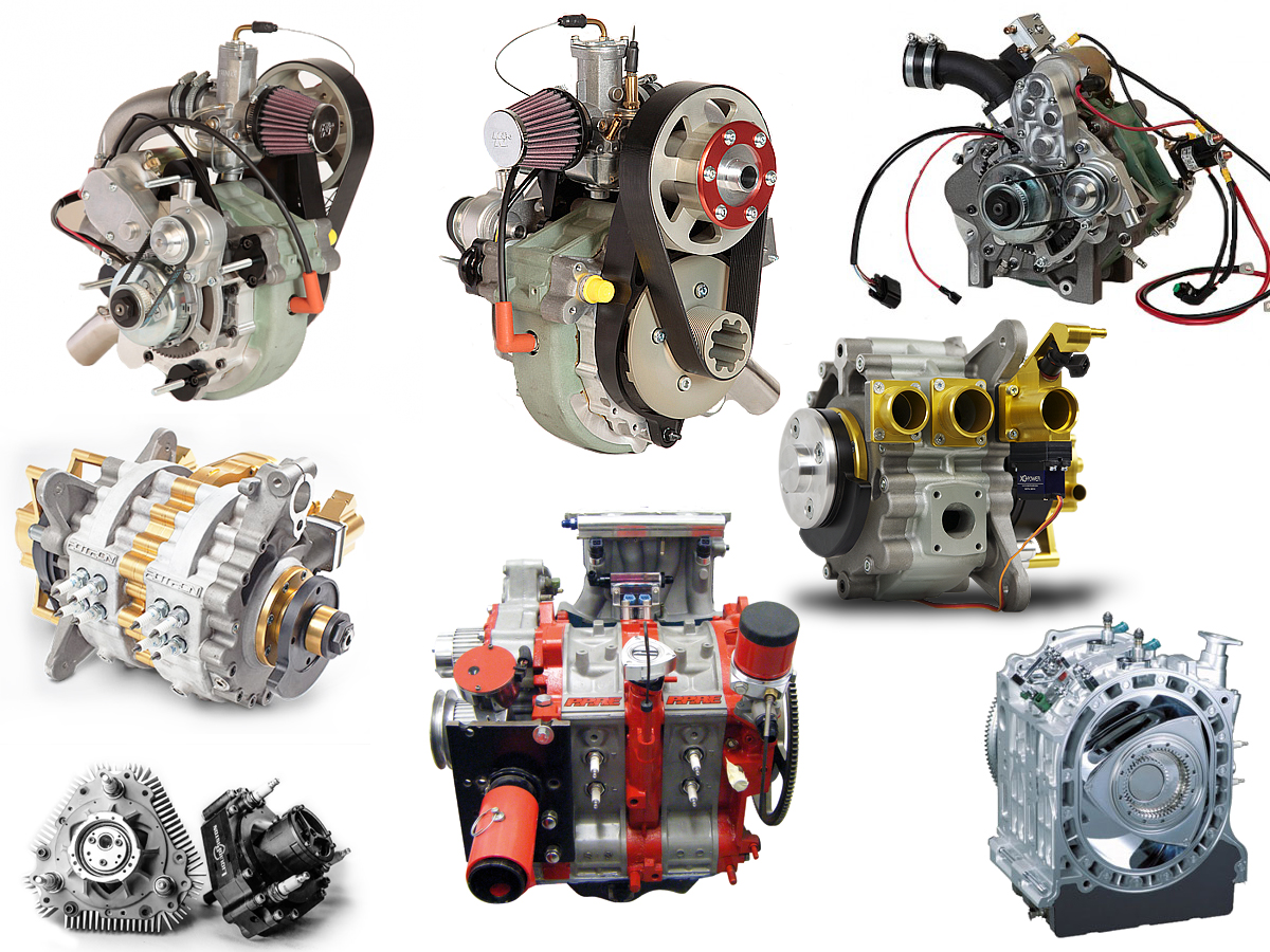 Mazda Rotary Helicopter Engines