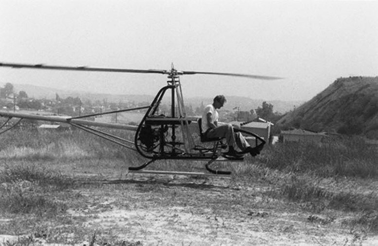 BJ Schramm RotorWay Scorpion One Helicopter Prototype