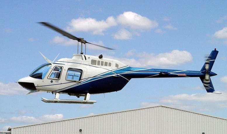Bell Jetranger Helicopter