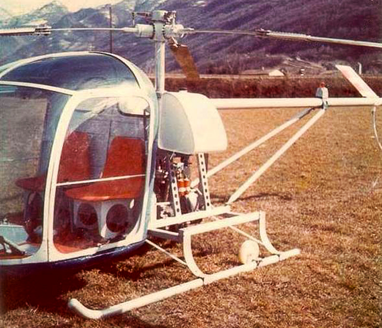 Berger BX-110 rotary powered helicopter