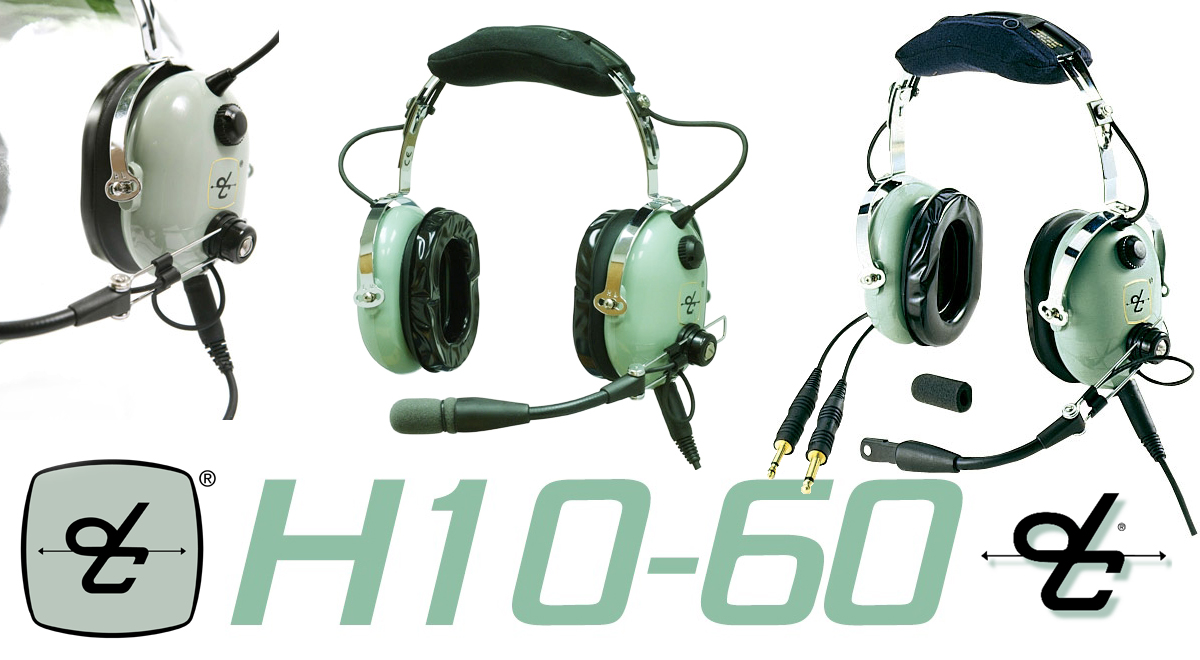 David Clark H10-60 Headset - Redback Aviation