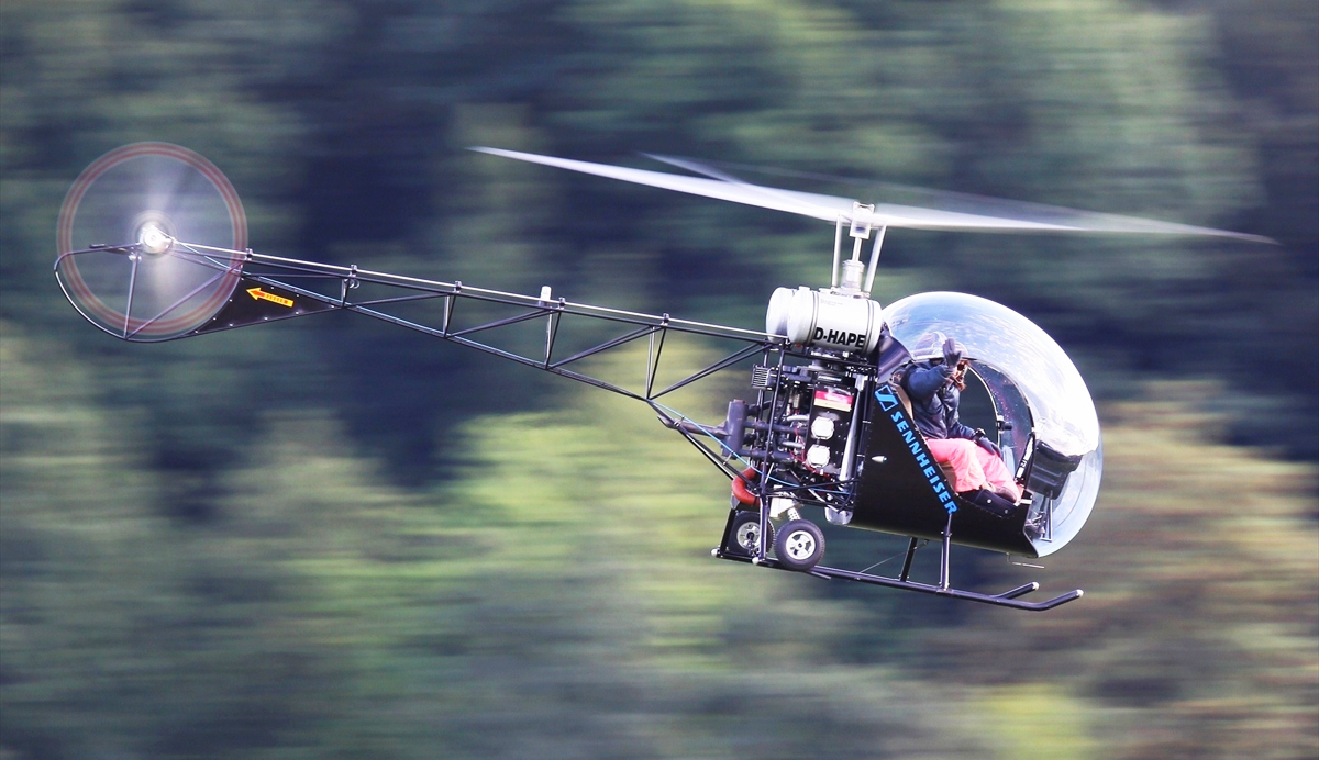 Taming Vibrations In The Safari Kit Helicopter