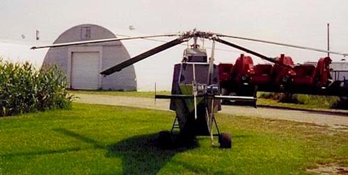 Cheetah V8 homebuilt helicopter