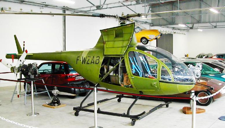 Citroen RE-2 Wankel powered helicopter museum
