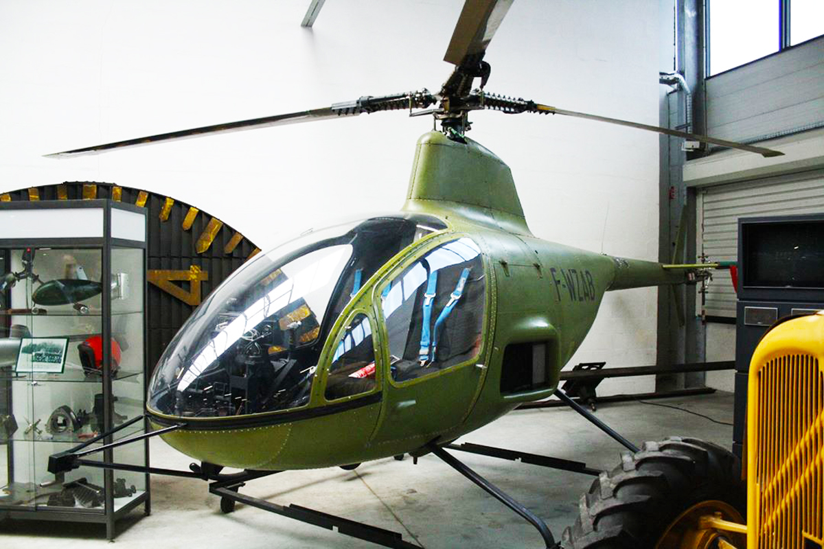 Citroen developed a wankel powered helicopter in the 70s