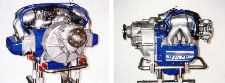 EA81 SUB4 Aircraft Engine
