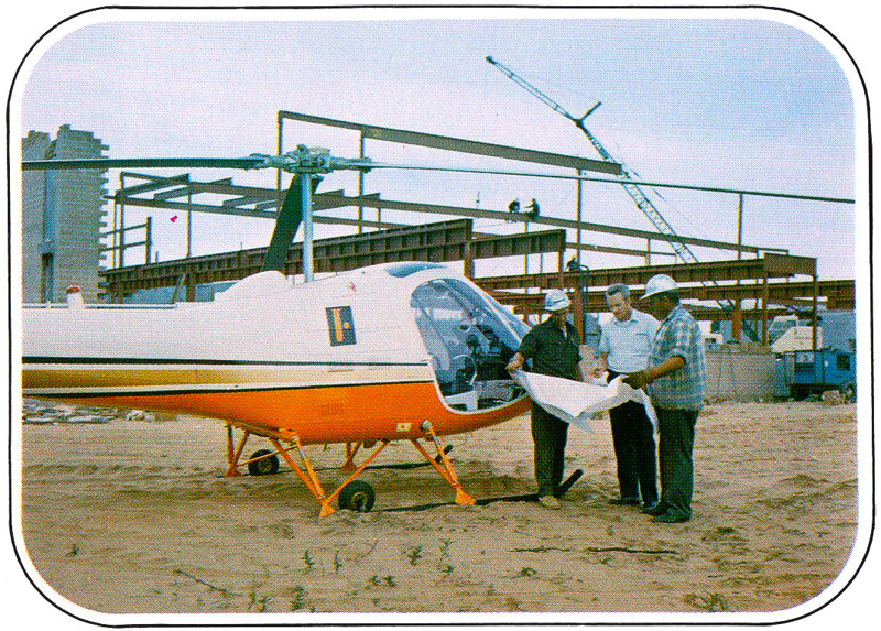 Enstrom helicopter executive transport