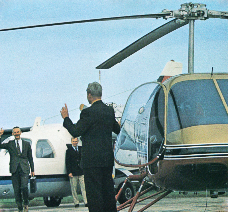 Enstrom helicopter for business