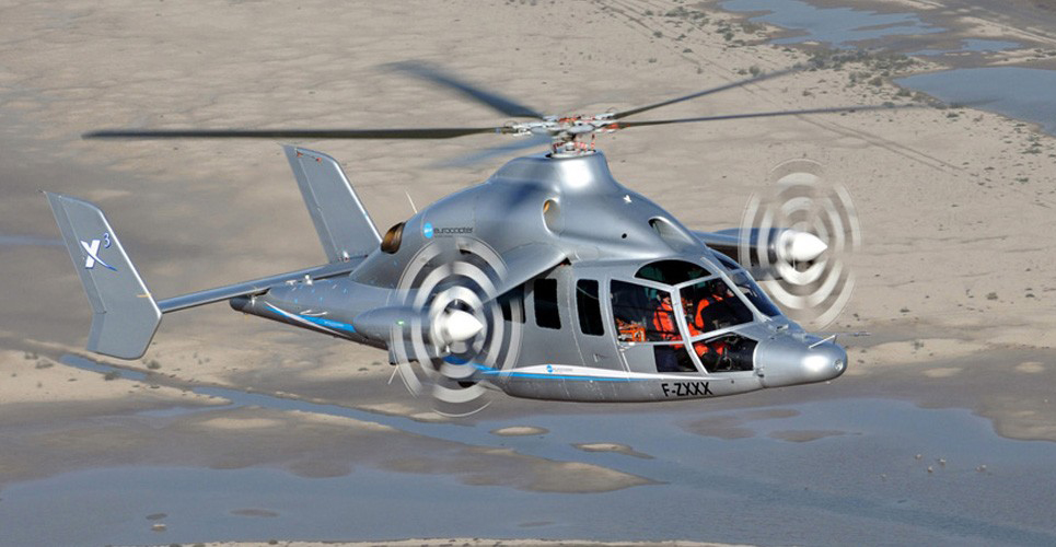 Record Breaking X3 Rotorcraft