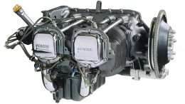 Four Stroke Lycoming R22 helicopter engine