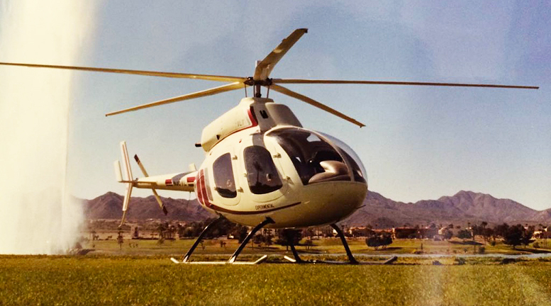 Four seat kit helicopter WindStar