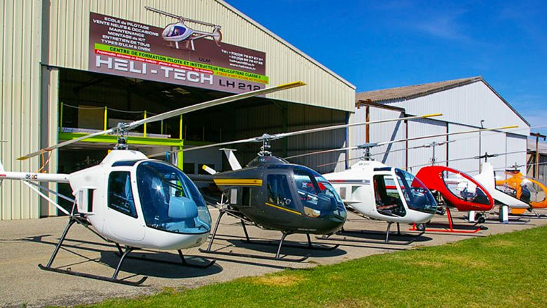 Heli-Tech Homebuilt Kit Helicopters France