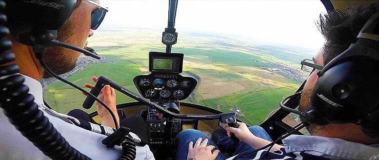 Helicopter pilot flight training for homebuilt helicopters