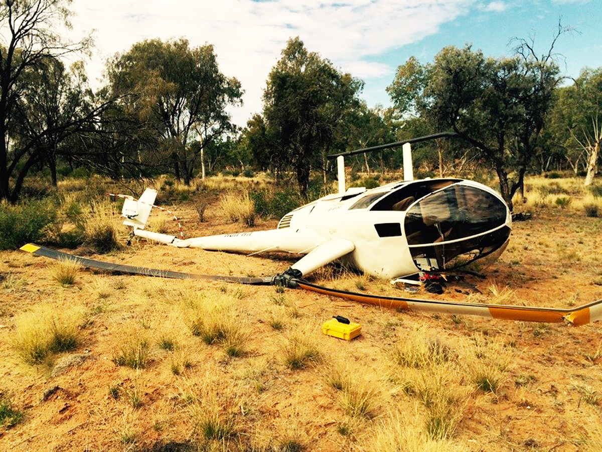 Helicopter Pilot Training Plan To Crash Redback Aviation