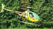Helicopter running landings and take-offs