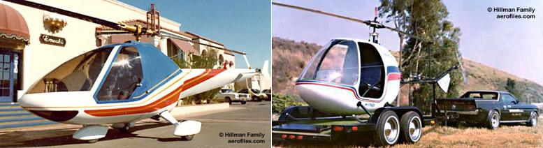 Hillman Wankelbee helicopter