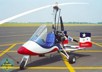 Ken Rehler N100KR Gyrocopter Crash