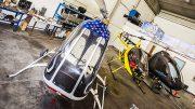 Kit helicopter builder assistance services