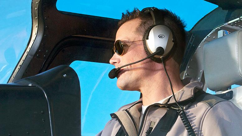 Lightspeed Zulu2 helicopter pilot headset Aircraft Communications