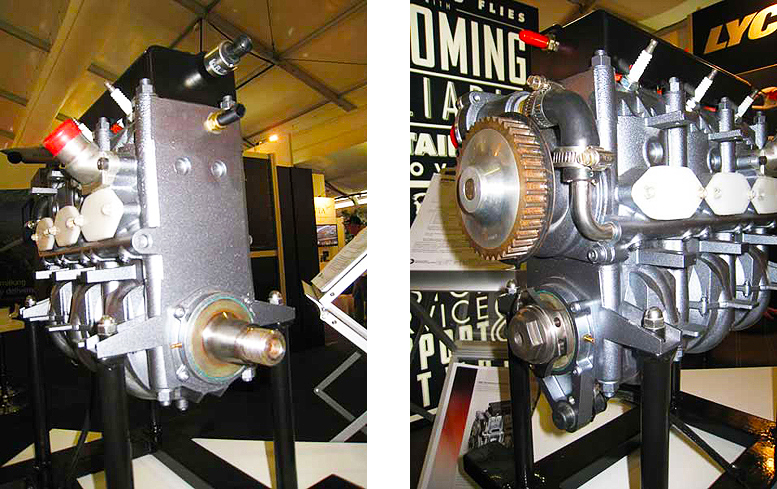 Lycoming EL 060 two stroke ultralight engine