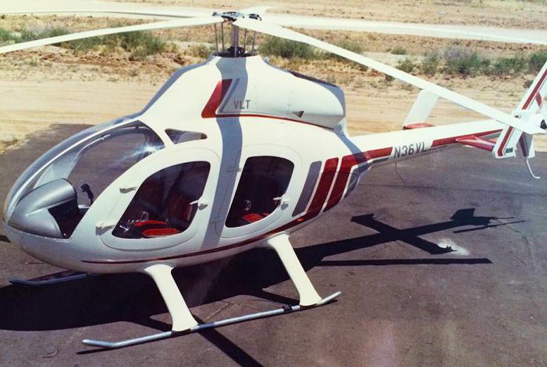 N36VL WindStar helicopter