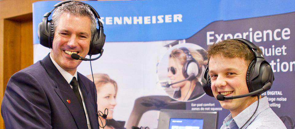 New Sennheiser S1 pilot headset sale