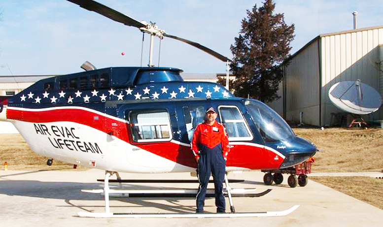 Helicopter Student Pilots With Orv Neisingh