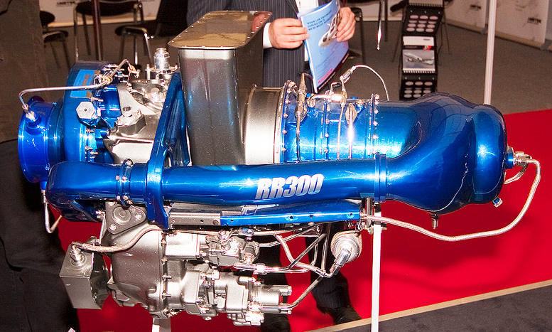 RR300 helicopter turbine