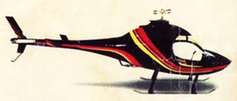 Rotorway Elite helicopter