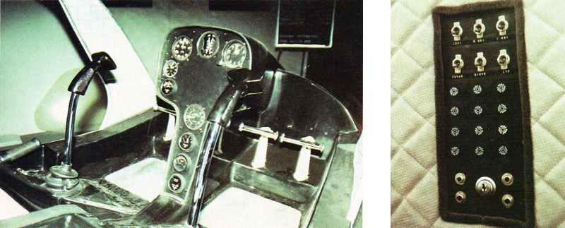 Rotorway Exec-90 cockpit layout