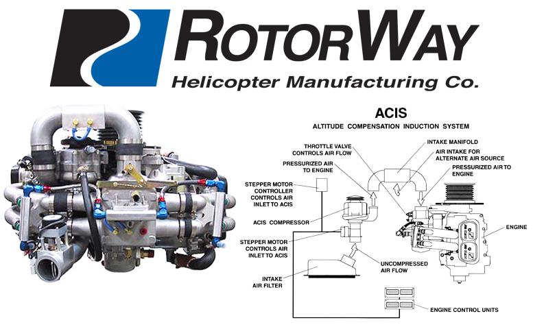 Rotorway Helicopter Engine ACIS