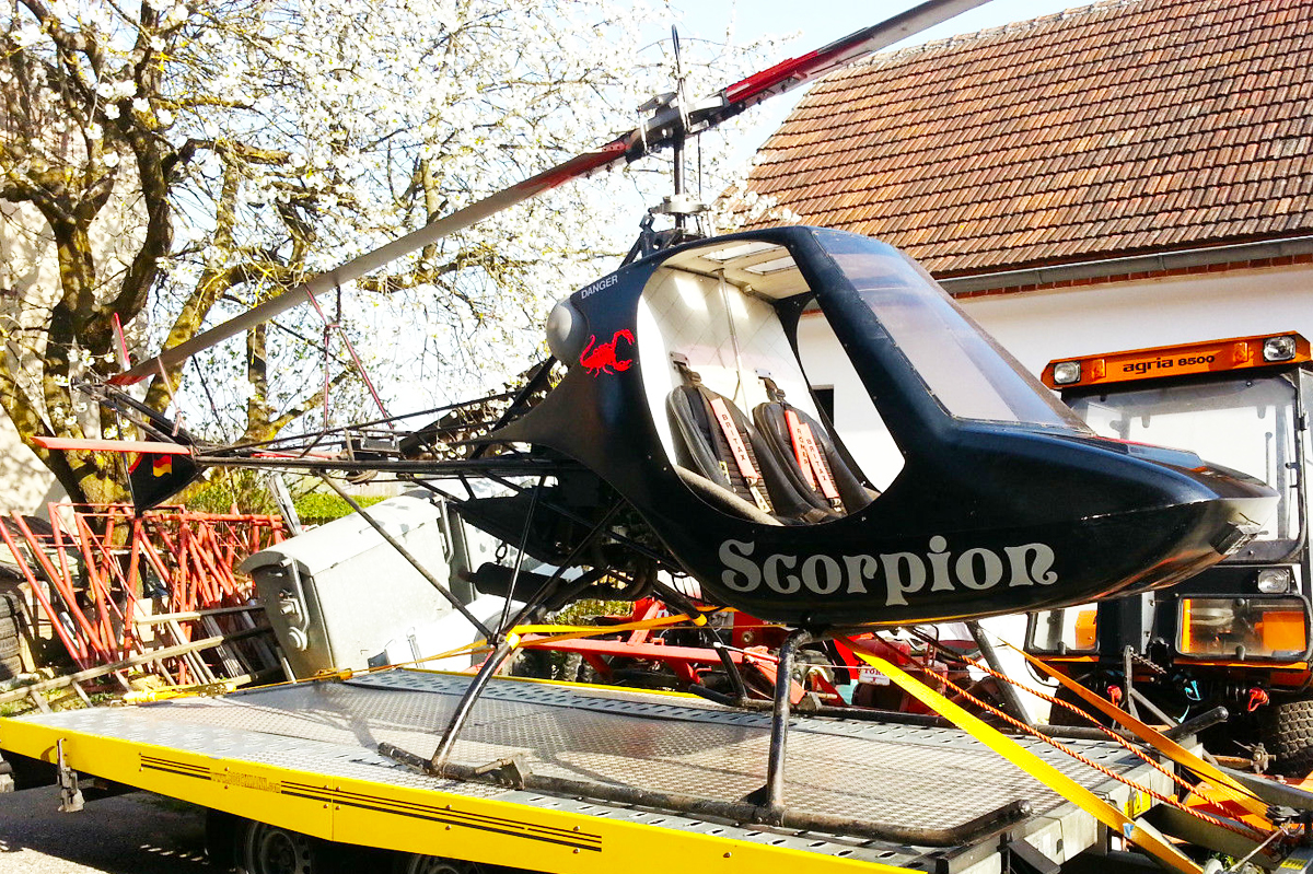 Rotorway Scorpion 2 helicopter
