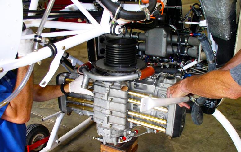 Rotorway Talon 162F engine