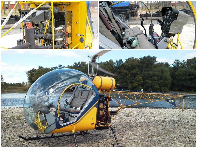 Safari kit helicopter vibrations