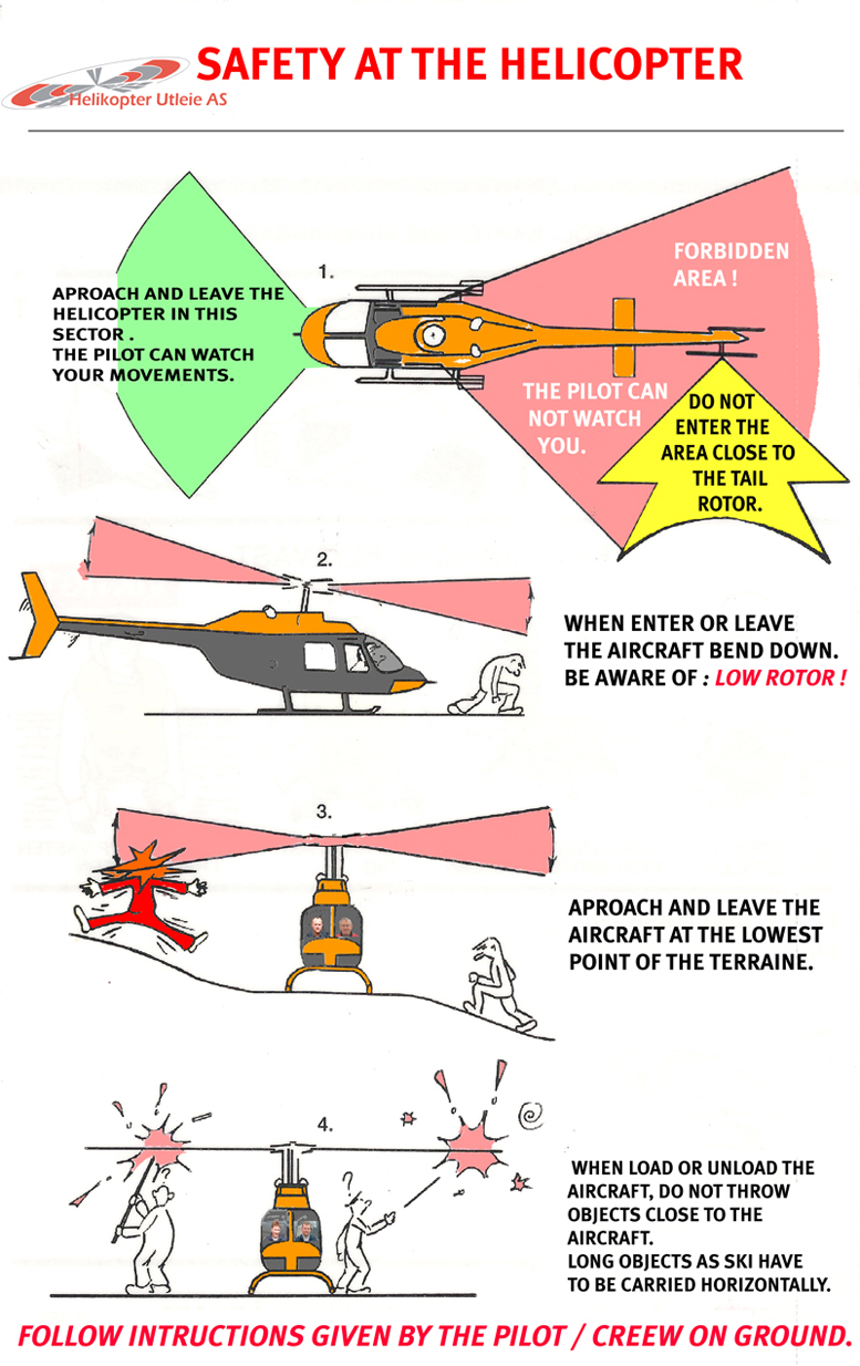 Safety with helicopters