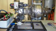 Solar APU helicopter turbine engine
