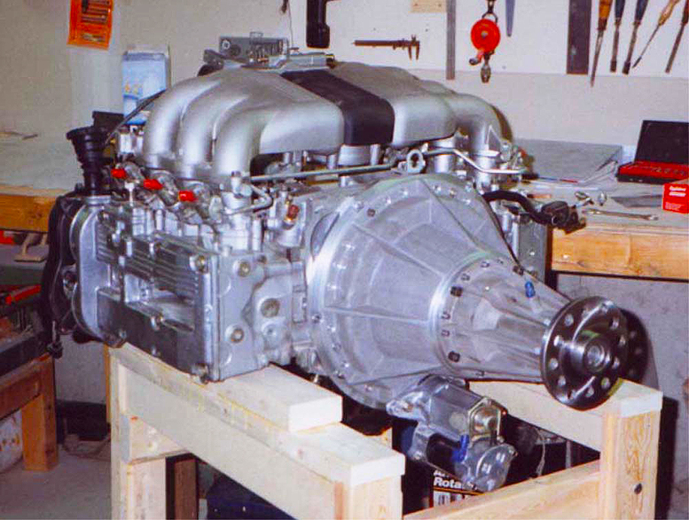 Subaru EG33 aircraft engine conversion
